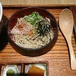 95187946 - 天丼セット 1250円(税込1350円)