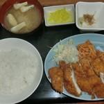 清水 - チキンカツ定食