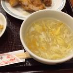 金龍 - スープ