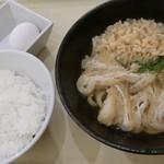 麺亭 しおつる - モーニングセット