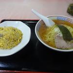 中華メモリー - 料理写真:Aセット ラーメン+半チャーハン