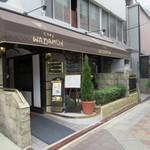 博多和田門 - お店は西中洲、河庄さんの横手のビルにあります。