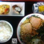 麺処 十 - ラーメン定食2