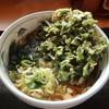 やしま - 料理写真:春菊天そば