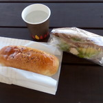 パナシェ - 料理写真:サンドイッチ&塩チョコパン