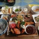 食事処 いとうえん - 料理写真:おまかせ弁当1300円