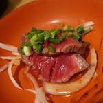 さくら鍋 鶴我 - 馬肉のたたき