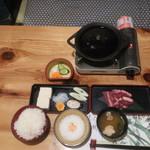 さくら鍋 鶴我 - 桜鍋