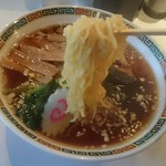 海龍 - 中細縮れ麺
