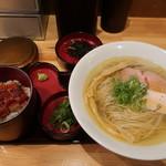 自家製麺 竜葵 - 料理写真:今回食べたもの