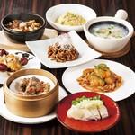 チャイニーズテーブル - 料理写真:中国4大料理集合縦
