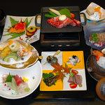 小谷いずみ亭 - 秋の会席料理写真