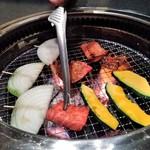95200673 - [料理] 焼肉 & 焼き野菜 ②