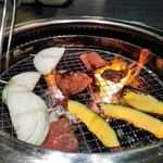 米沢亭 炭火苑 - [料理] 焼肉 & 焼き野菜 ④