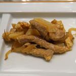 MASA'S KITCHEN - じゃが芋と豚肉とイブリガッコ