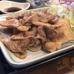 定食の店 牛太郎 - 生姜焼き