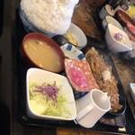 定食の店 牛太郎 - 牛バラおろし定食 ご飯大盛り