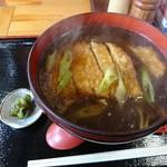 そば処宝栄 - 料理写真:カツカレー南蛮 うどん