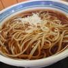 ねぎどん - 料理写真:生麺使用のかけそば420円