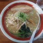 95204247 - 豚しょうゆ白湯(太麺)780円