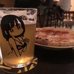 オール トーキョー - ピザは簡易的な