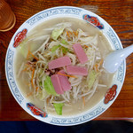 一心亭 - 細麺ちゃんぽん980円