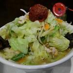 95207658 - 赤玉たんめん(太麺)900円(税込)