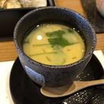 割烹居酒屋 酒縁 青月 - 茶碗蒸し(あんかけ)