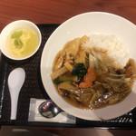 台湾家庭料理 大公 - 五目あんかけご飯