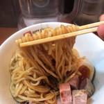 95212743 - 混ぜつつ麺リフト。