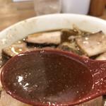 麺や七彩 - 喜多方肉そば、煮干し