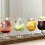 TERRACE RUBAN Akayu 6DINING - フルーツの食感と風味が楽しめる食べるドリンク