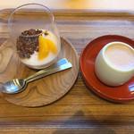 ダンデライオン・チョコレート - パンナコッタとマイコチョコレート