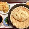 麺喰 - 料理写真:ざるうどん&とり天セット