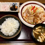 95218388 - 生姜焼き定食