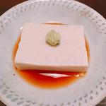 Shirakame - 豆乳そば豆腐 380円