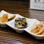 居酒屋 大河 - お晩菜3種盛