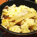 9522419 - 秋の暦膳:松茸ご飯