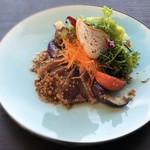 TERRACE RUBAN Akayu 6DINING - お魚とサラダのランチ