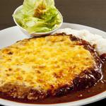 ハンバーグ家 - チーズデミプレート