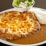 ハンバーグ家 - チーズカレープレート