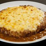 ハンバーグ家 - チーズカレー