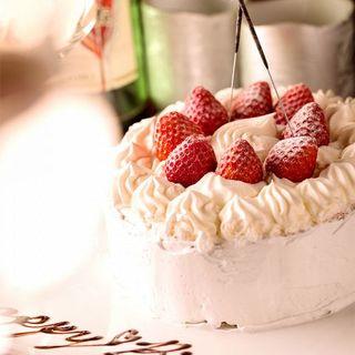 誕生日・記念日にはデザートプレート無料でサービス♪