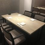 日本料理 矼 - 4名掛け半個室他タイプのテーブル席