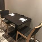 日本料理 矼 - 2名掛けテーブル席