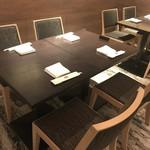 日本料理 矼 - 4名掛けテーブル席