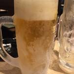 とりどーる - 生ビール