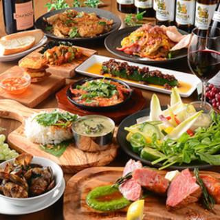 定番からオリジナル料理まで楽しめるコースは2,900円~!