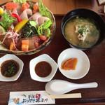 大乃屋 - 料理写真:串間活〆ぶりプリ丼ぶり(大盛り)