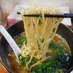 鐙 - 麺リフトアップ